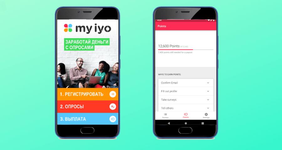 Заработок на опросах онлайн Мyiyo