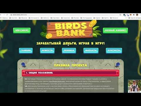 Игра Birds Bank — лохотрон или нет?