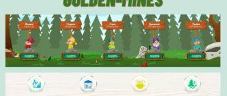 Игра на деньги — гномы Golden-mines